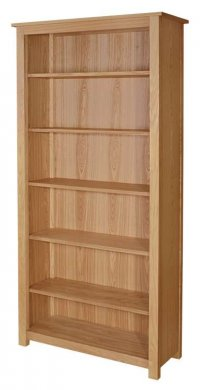 "36"" by 78"" Open Bookcase"
