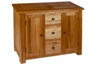 Plum Compact 3 Drawer Sideboard - Nuit