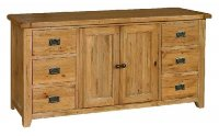 6 - Drawer Large Sideboard
