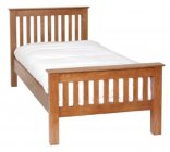 3' High Foot End Bed