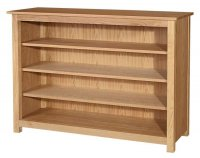 "54"" by 36"" Open Bookcase"