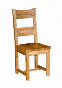 Dining Chair with Wooden Seat